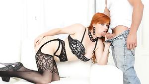 Mature redhead milf threesome-new porn