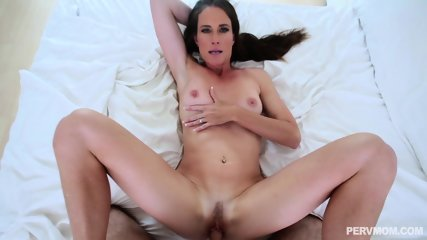Brunette Mom - Brunette Mom Sofie Marie Lusts For Young Hard Dick POV