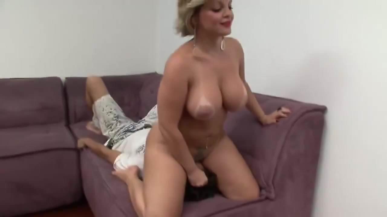 Hot Blonde Brunette Threesome