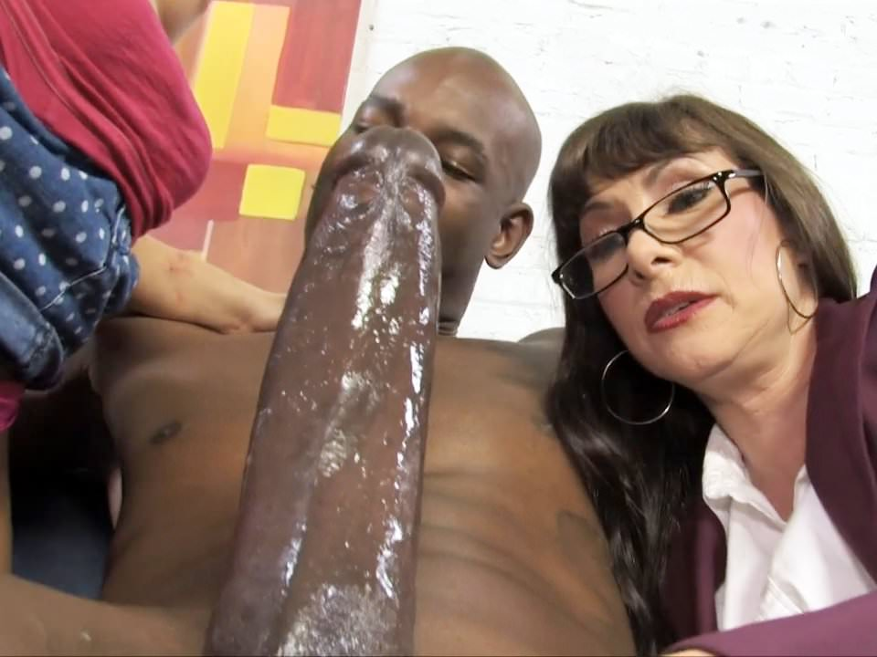 Black Dick Sucking Hardcore