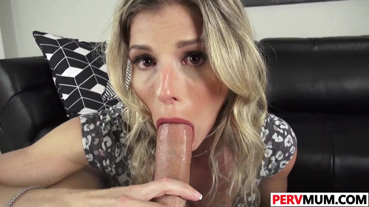Giving My Sons Friend Blowjob