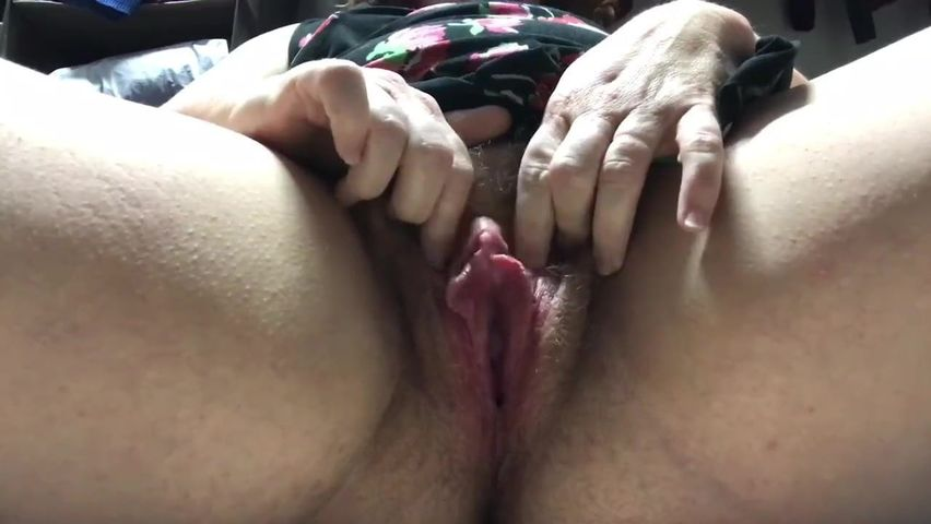 Wet Black Pussy Up Close