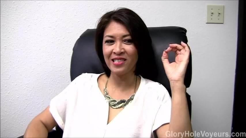 Asian women sucking cock