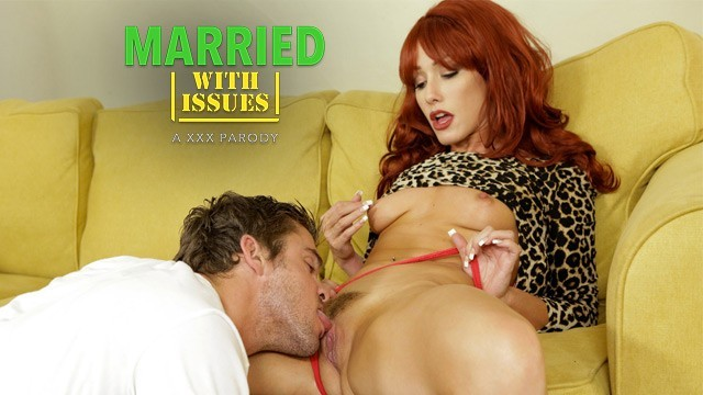 Redhead MILF Peggy Bundy Gets Nailed By Buds Best Friend