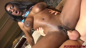 Lots of cum in her mouth