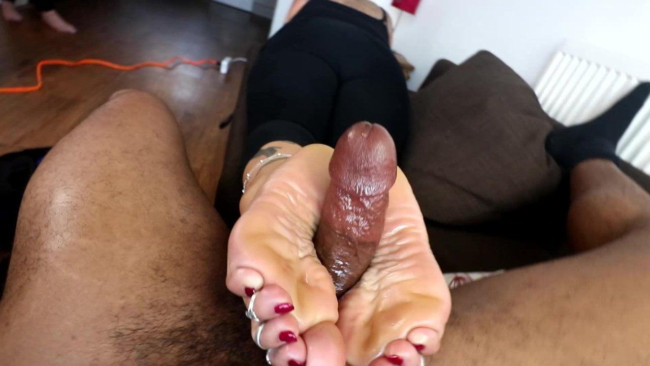 Sexy Latina Shower Dildo